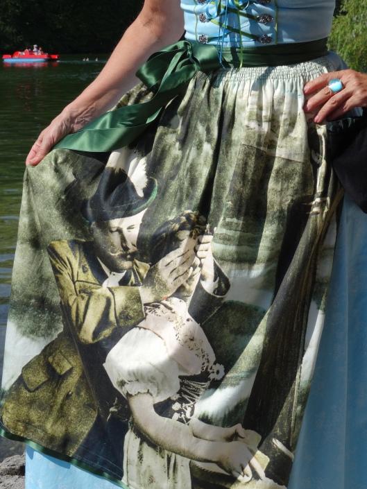 Designer-Schürze - das Original ist von Martina Berg entworfen