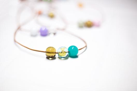 Lederlook-Perlen