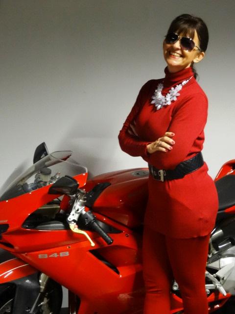 Roter-Look-Motorrad-Ducati