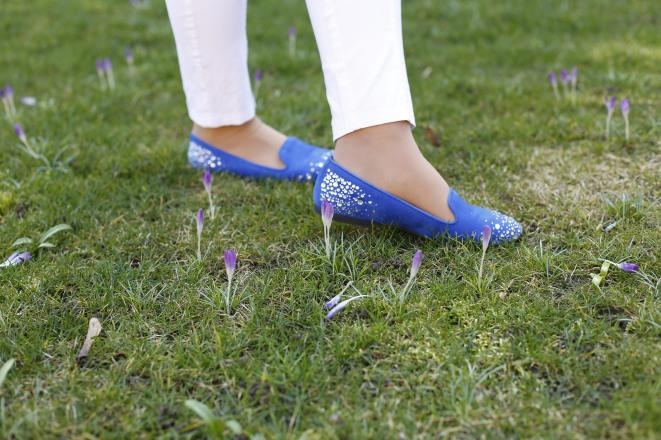 Blaue Ballerina-10