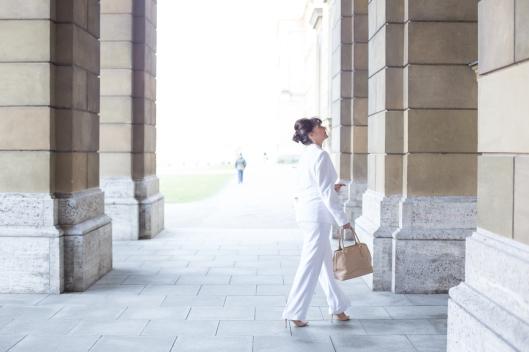 Look in White - komplett - Hofgarten