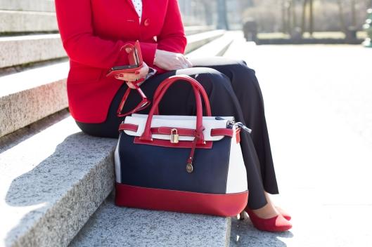 Maritimer Look - Hose - Tasche sitzend